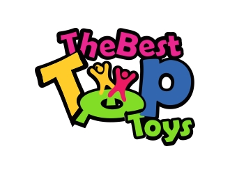 The Best Top Toys logo design