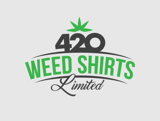 420 Weed Shirts Limited logo design
