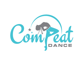 COMPEAT DANCE logo design