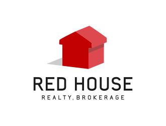 Red House Realty, Brokerage logo design