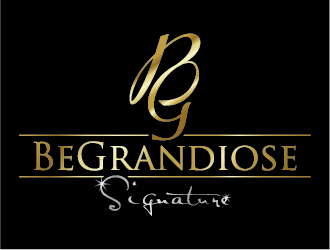 BeGrandiose Signature. logo design