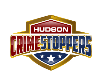 Hudson Crime Stoppers logo design