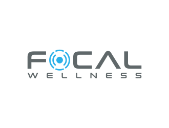 Focal Wellness logo design