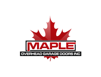 Maple Overhead Garage Doors Inc. logo design