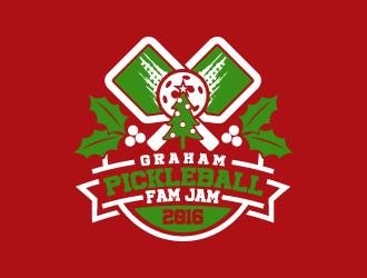 """""""Pickleball Fam Jam"""" logo design"""
