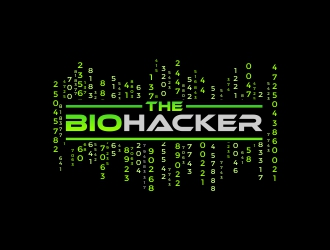 The Biohacker logo design
