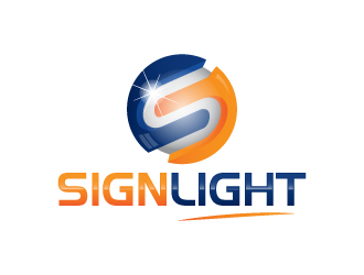 SignLight logo design