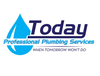 Today Professional Plumbing Services logo design