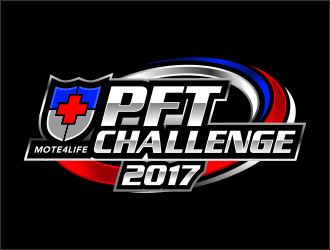 Mote4Life PFT Challenge logo design