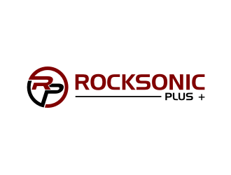 Rocksonic Plus + logo design