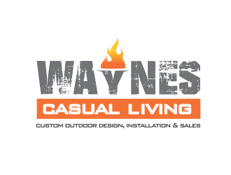 Wayne's Casual Living logo design