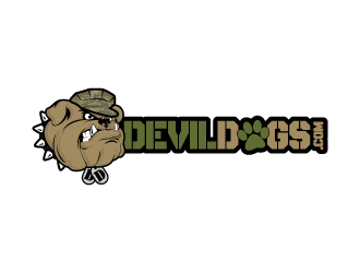 DevilDogs.com logo design