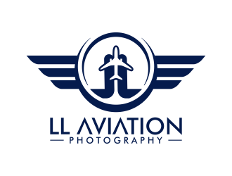 LL Aviation Photography logo design