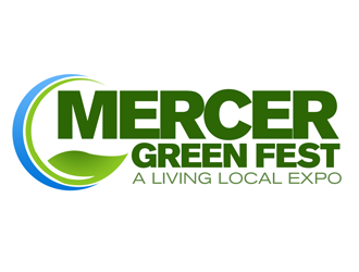Mercer Green Fest logo design