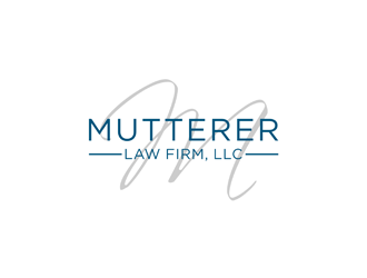 Mutterer Law logo design