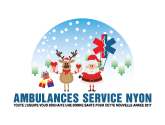 Ambulance Services Nyon logo design