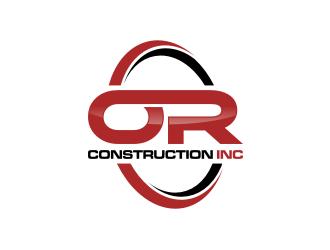 OR CONSTRUCTION INC. logo design