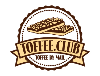 Toffee.Club logo design