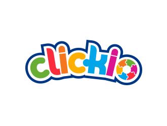 Clickio logo design