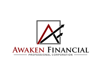 Awaken Financial Professional Corporation logo design