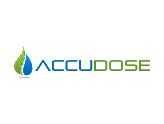 AccuDose logo design
