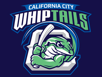 California City Whiptails logo design
