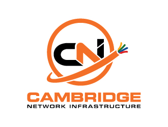 cambridgenetworkinginfrastructure logo design