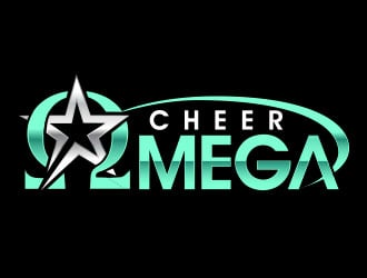 Cheer Omega logo design
