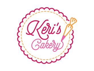 Keri's Cakery logo design