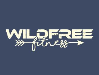 Wild Free Fitness logo design