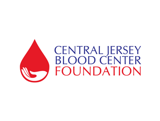 Central Jersey Blood Center Foundation logo design