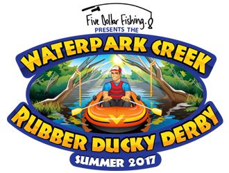 Waterpark Creek Rubber Ducky Derby logo design