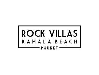 Rock Villas - Kamala Beach-Phuket logo design