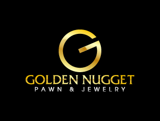 Golden Nugget Pawn & Jewelry logo design