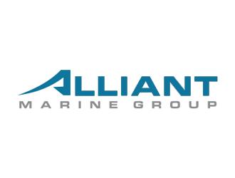 Alliant Marine Group logo design