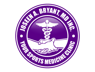 Joseen A. Bryant, MD Inc. logo design