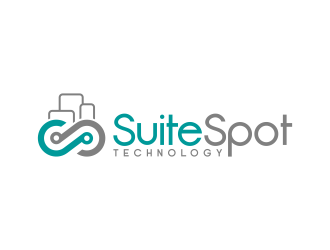 SuiteSpot Technology logo design