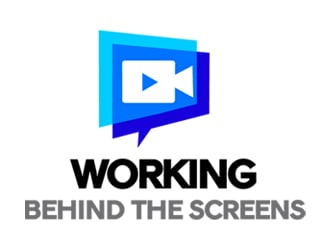 Working Behind the Screens logo design