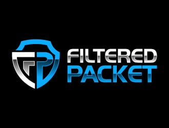 Filtered Packet logo design