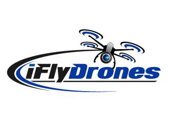 iFlyDrones logo design