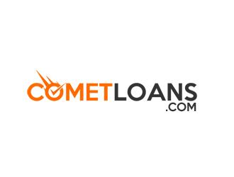 CometLoans.com logo design