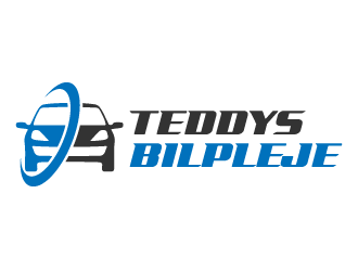 Teddys Bilpleje logo design