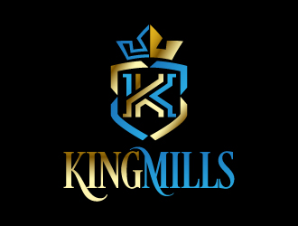 King Mills logo design