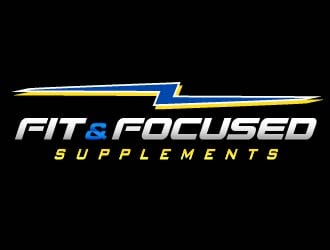 Fit and Focused Supplements logo design
