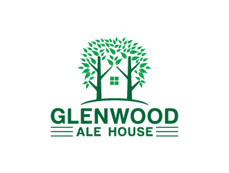 Glenwood Ale House logo design