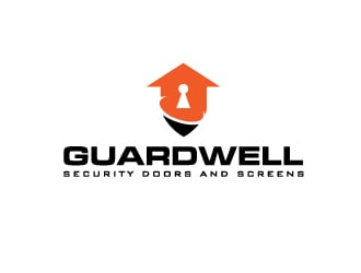 Guardwell  - Security doors and Screens logo design