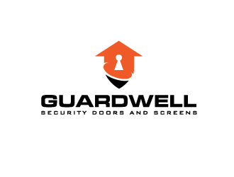 Guardwell  - Security doors and Screens logo design