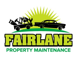Fairlane Property Maintenance logo design