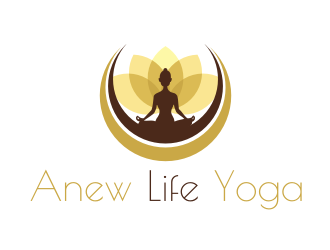 Anew Life Yoga logo design