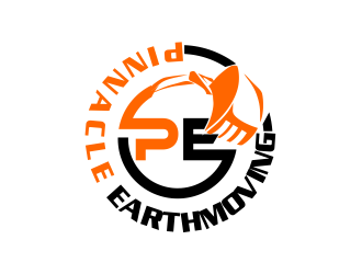 PINNACLE EARTHMOVING logo design
